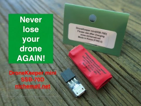 Never lose your drone again - DroneKeeper Mini - UCmTEzLSecWozHOMMJUnOpaw