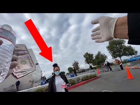 Costco Management Asks Street Preacher to Leave!