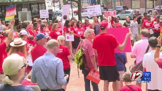 Moms Demand Action rallies in Providence against gun violence