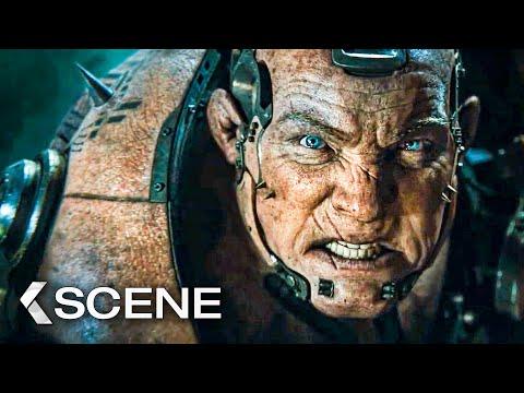Alita vs Grewishka Fight Scene - ALITA: Battle Angel (2019) - UCLRlryMfL8ffxzrtqv0_k_w