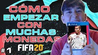 CÓMO EMPEZAR con MUCHAS MONEDAS en FIFA 20!!😱 TRUCOS & CONSEJOS FIFA 20