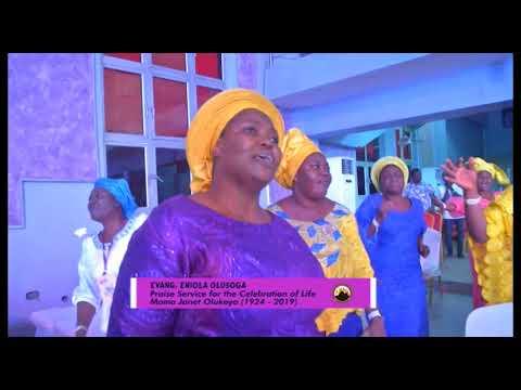 Late Ma Janet Olukoya Special Praise Service Evang Eniola Olusoga