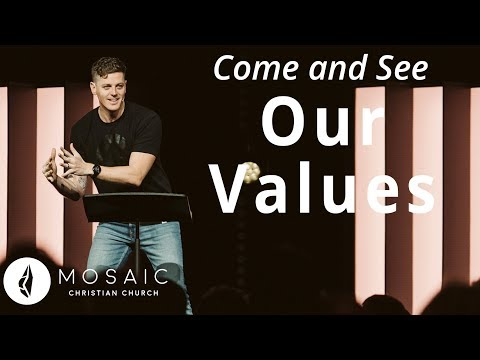 Our Values  Come and See  Revelation 3:1-5