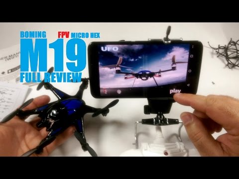 BoMing M19 FPV Micro Hexacopter Review - [Unbox, Setup, Flight Test, Pros & Cons] - UCVQWy-DTLpRqnuA17WZkjRQ