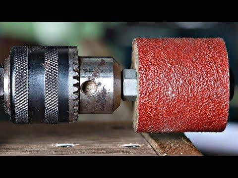 3 Best Homemade Drill Sander Projects || Drill Hacks - UC3SfkkQw9TmpjsFZTp3bdYw