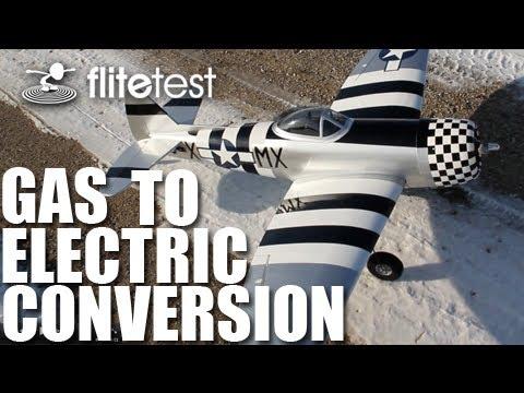 Flite Test - Gas to Electric Conversion - FLITE TIP - UCKy1dAqELo0zrOtPkf0eTMw