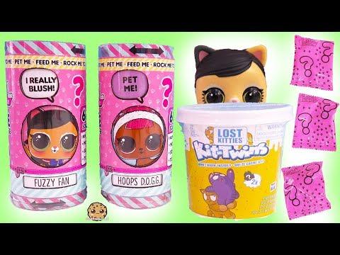 LOL Surprise Talking Interactive LIVE Pet Blind Bags + Lost Twin Kitties - UCelMeixAOTs2OQAAi9wU8-g