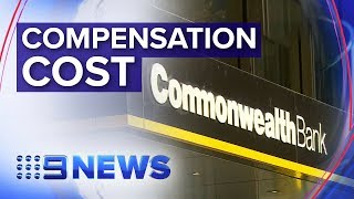 CBA's profit slides as it pays $2.2bn to ripped off customers | Nine News Australia