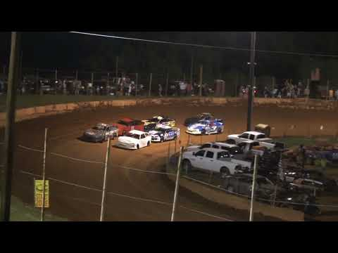 Stock 4a at Winder Barrow Speedway July 24th 2021 - dirt track racing video image