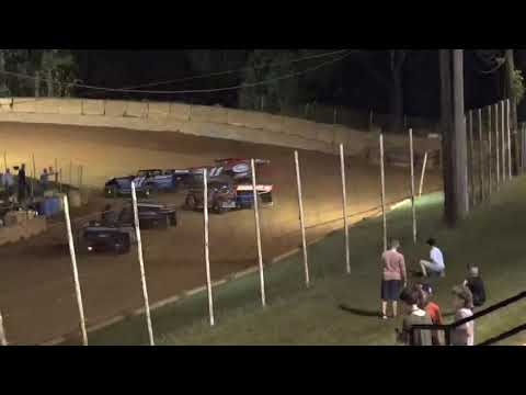 Limited Late Model at Winder Barrow Speedway October 9th 2021 - dirt track racing video image