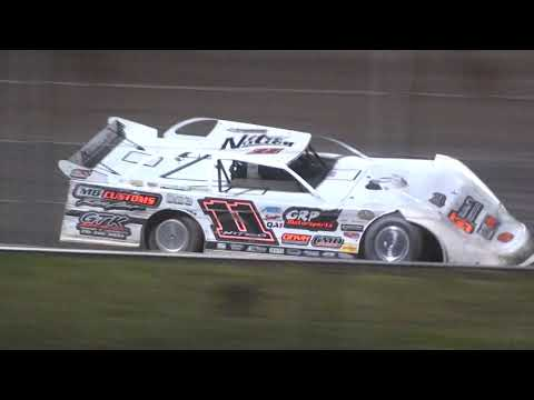 Late Model Feature - Cedar Lake Speedway 08/21/2021 - dirt track racing video image