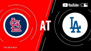 Cardinals at Dodgers | MLB Game of the Week Live on YouTube