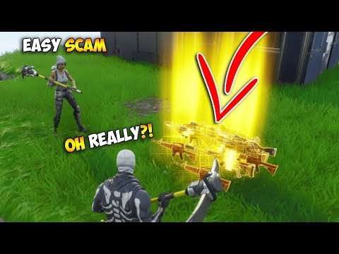 BIG Scammer Tried To Scam Me Twice! (Scammer Gets Scammed) - Fortnite Save The World - UC8Xpv5zFc-MZrX4Czo6tKVA
