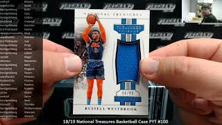 8/19/2019 18/19 National Treasures Basketball Case PYT #100