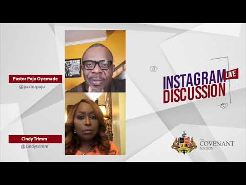 Instagram Live Discussion with Dr. Cindy Trimm