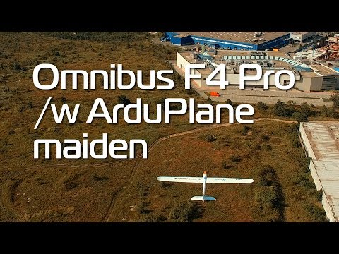 Volantex Phoenix V2 with ArduPlane on Omni F4 Pro... AWESOME!!! - UCG_c0DGOOGHrEu3TO1Hl3AA