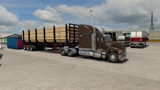 ATS Truck Simulator V1.35 Delivered Business Stuff From Kennewick To Ontario Company