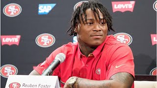 NFL won't suspend Reuben Foster for domestic violence arrests