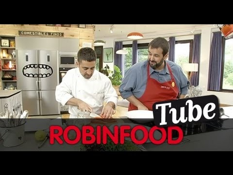 ROBINFOOD / Espárragos blancos con ensalada de xixas + Trucha de banka con sopa de guisantes - UCjKISfZVA-BPQtT45gk-c2w