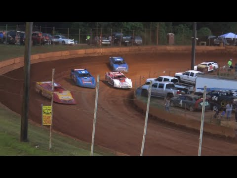 602 Late Model at Winder Barrow Speedway June 26th 2021 - dirt track racing video image