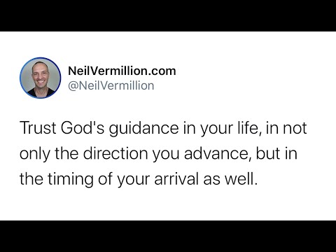 The Beauty And Simplicity Of My Perfect Timing - Daily Prophetic Word
