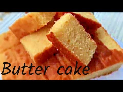 Super moist butter cake ..! A very easy recipe ..!