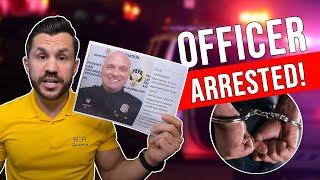 Officer Arrested! Phoenix Police Officer Timothy Baiardi