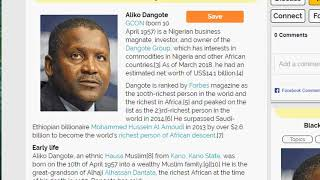 FIND OUT WHAT ALIKO DANGOTE DID WHEN IN PRIMARY SCHOOL