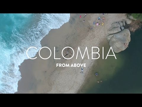 Colombia travel perspective by Drone  |  DJI Phantom 4