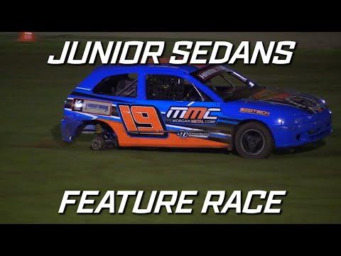 Junior Sedans: Top Stars - A-Main - Kingaroy Speedway - 16.10.2021 - dirt track racing video image