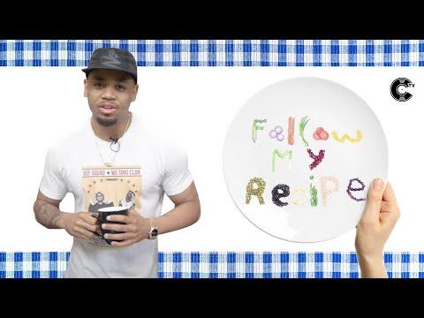 Mack Wilds Bakes Mima's Famous Red Velvet Cake  | Follow My Recipe™