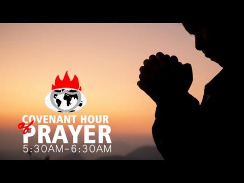 DOMI STREAM: COVENANT HOUR OF PRAYER  12, MARCH 2021  FAITH TABERNACLE OTA