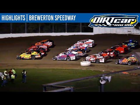 DIRTcar 358 Modifieds Brewerton Speedway October 7, 2021   HIGHLIGHTS - dirt track racing video image