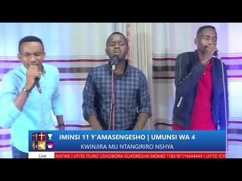 FOURSQUARE  IMINSI 11 YO GUSENGA - UMUNSI WA 4  HAMWE NA BISHOP DR. FIDELE MASENGO