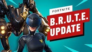 Fortnite Nerfs B.R.U.T.E. in Balance Update