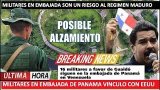 Militares conspiran contra Maduro en embajada de Panama