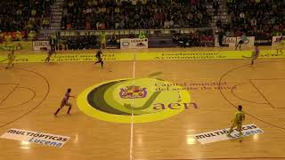 Spain Cup (Copa del Rey) - Quarter Finals - Jaén Paraiso Interior 3x2 Palma Futsal