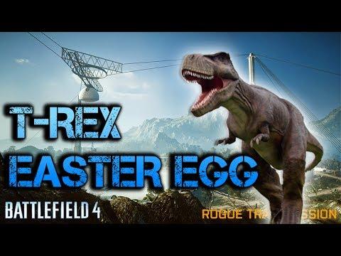 Battlefield 4 | DINOSAUR ROAR EASTER EGG ON ROGUE TRANSMISSION | Jurassic Battlefield - UCYzPXprvl5Y-Sf0g4vX-m6g