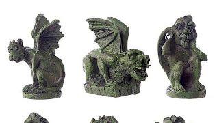 Yhon Soto Solutions - Novelty Gift Fun Fantasy Canterbury Cathedral Gargoyle Figurine