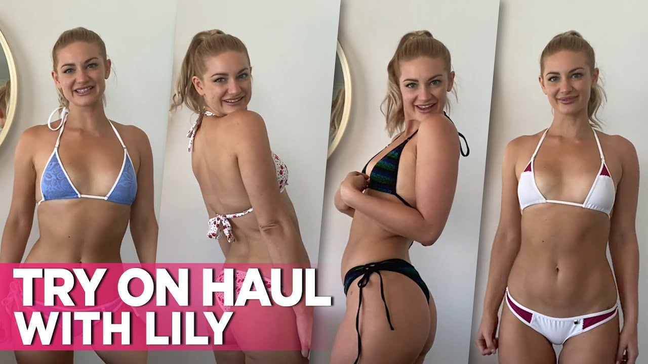 Sexy Lily's First Bikini Try On Haul Video: Wicked Weasel's Very Own Bombshell