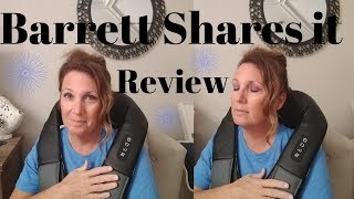 Barrett Shares it Naipo Neck and Shoulder massager review*Love or hate?