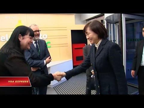 Đệ nhất phu nhân Nhật thăm tổ chức từ thiện Anh (VOA)
