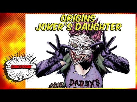 Joker's Daughter Origins - UCmA-0j6DRVQWo4skl8Otkiw