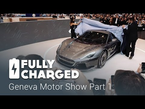 Geneva Motor Show 2018 Part 1 | Fully Charged - UCzz4CoEgSgWNs9ZAvRMhW2A