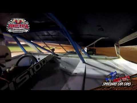 #5Djr Paul Day Jr  - Mini Stock - 8-6-21 Ponderosa Speedway - In-Car Camera - dirt track racing video image