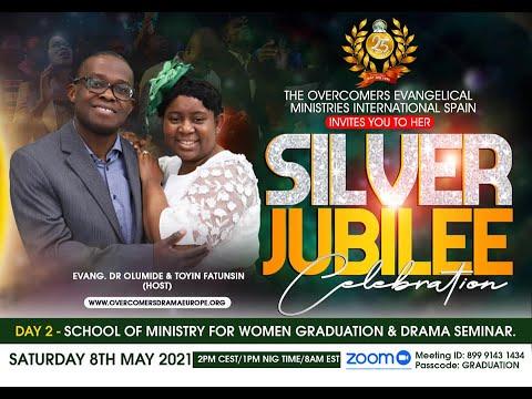 OVERCOMERS@25 DAY 2 - SCHOOL OF MINISTRY & DRAMA SEMINAR