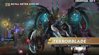 Fnatic vs RoyalNeverGiveUp Game 2 (Bo2) | The International 2019 Groupstage