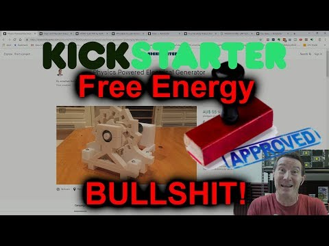 eevBLAB #60 - Kickstarter Free Energy SCAMS! - UC2DjFE7Xf11URZqWBigcVOQ