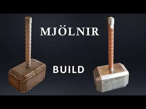 CRAZY SOLID Metal 91 lb Thor's Hammer Build - default