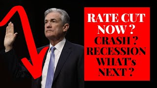 Stock Market News - Economic Fundamentals Are Weak - Inflation Ahead Given FED Rate Cut